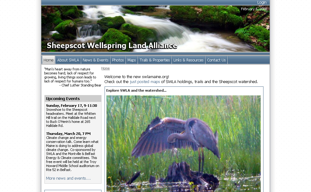 Sheepscot Wellspring Land Alliance - Home_1202335401375