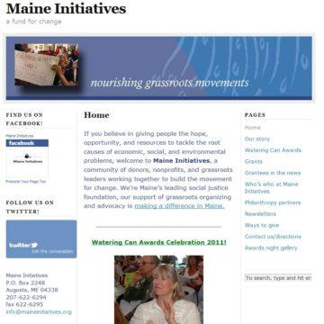 Maine Initiatives