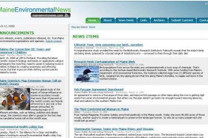 Maine Environmental News