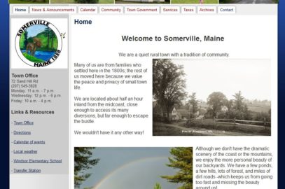 Town of Somerville, Maine